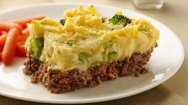 Potato-Topped Meat Loaf Casserole (Cooking for Two)