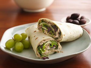 Pesto&#32;Tuna&#32;Wrap
