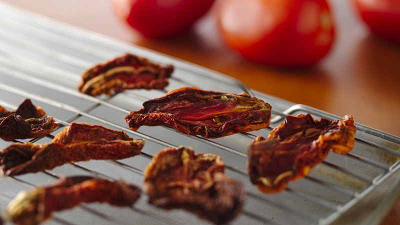 Oven Dried Tomatoes recipe from Betty Crocker