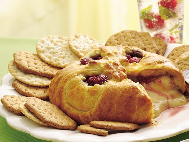 Raspberry Baked Brie