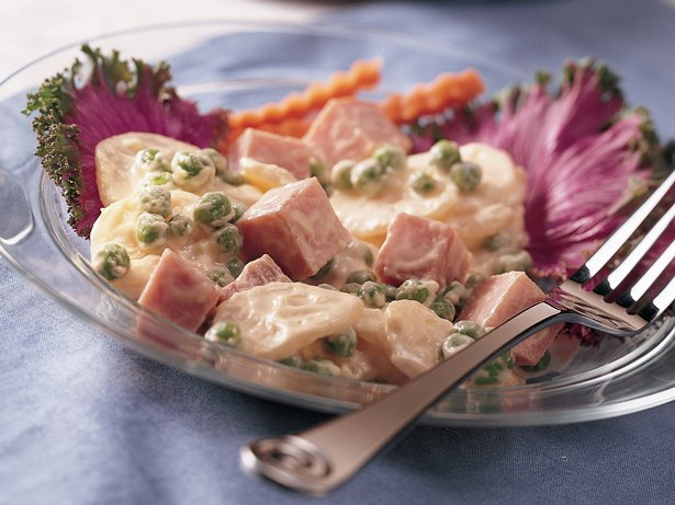 Creamy Ham and Potato Salad