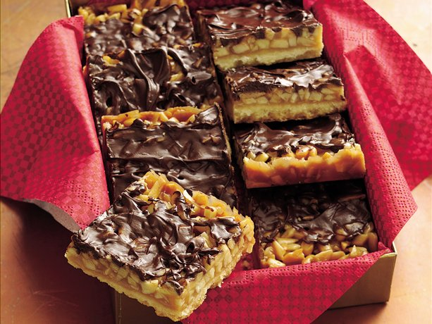 Image of Almond Toffee Bars, Betty Crocker