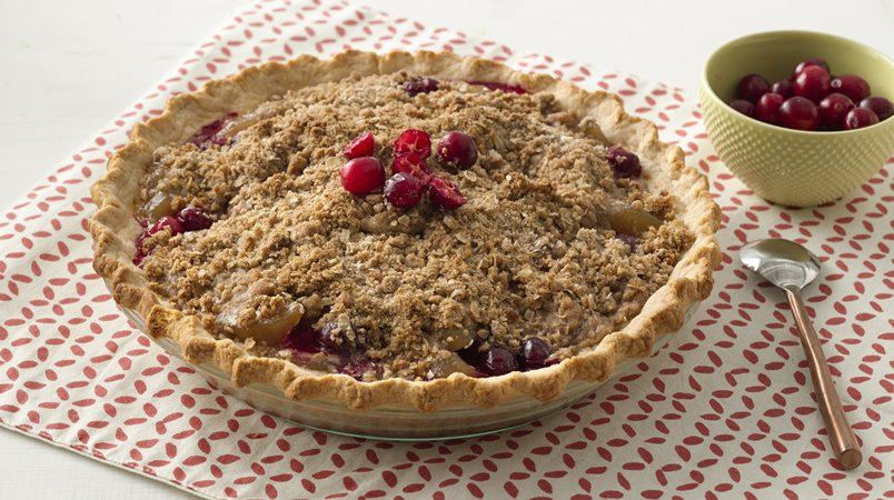 Extra Easy Cranberry Apple Pie