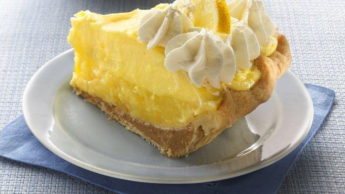 Stuffed-Crust Lemon Layer Pie