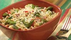 Orzo with Bacon and Asparagus Recipe
