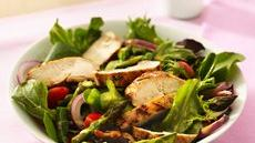 Grilled Chicken Garden Salad Recipe