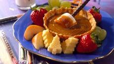 Christmas Vacation Peanut Butter Fondue Recipe