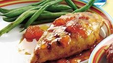 Apricot-Glazed Chicken Breasts Recipe