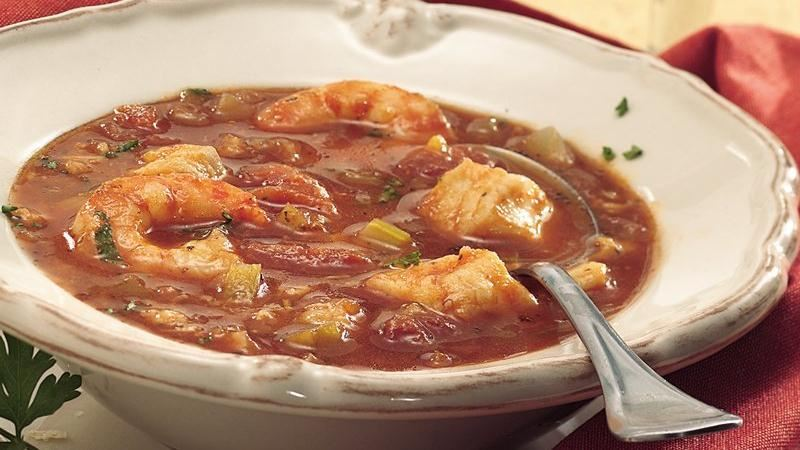 slow cooker seafood stew recipe from betty crocker