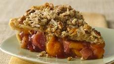 Peach Rhubarb Pie Recipe