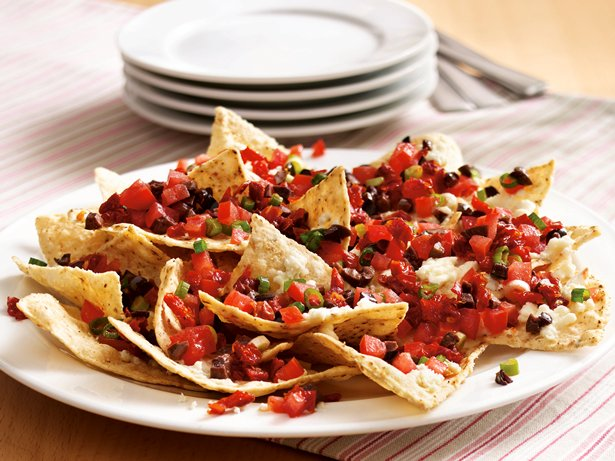 Mediterranean Nachos