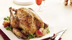 Sage and Garlic Roast Turkey Recipe