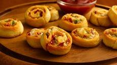 Bacon-Cheddar Pinwheels Recipe
