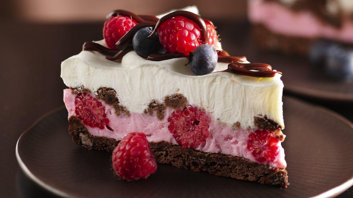 Chocolate And Berries Yogurt Dessert Life Made Delicious