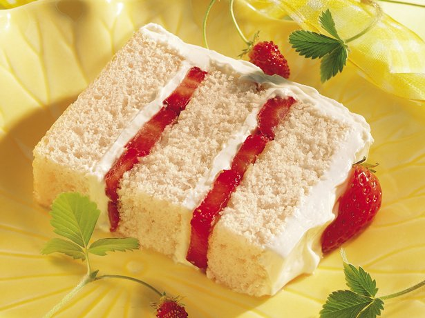 Strawberry Yogurt Torte recipe from Betty Crocker