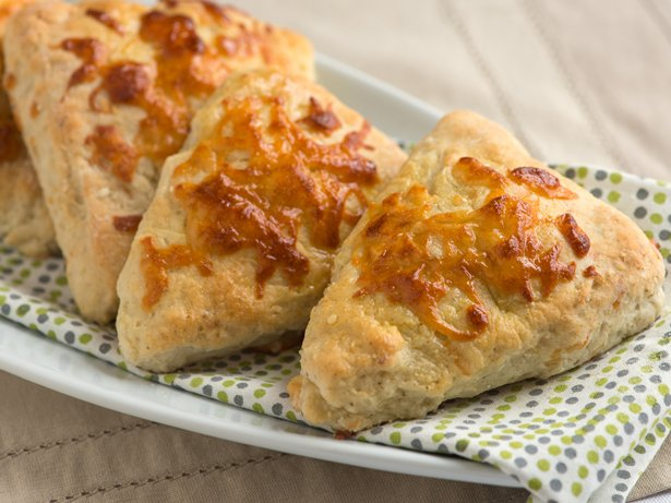Sage, Garlic and Provolone Biscuits