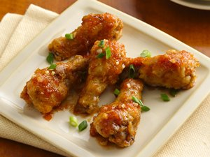 Sticky&#32;Ginger&#32;Garlic&#32;Chicken&#32;Wings