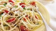 Linguine with Tuna and Tomatoes