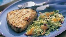 Balsamic Grilled Halibut Steaks Recipe