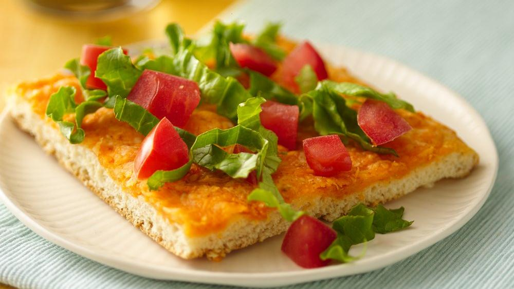 Mexican Cheese Crescent Pizza