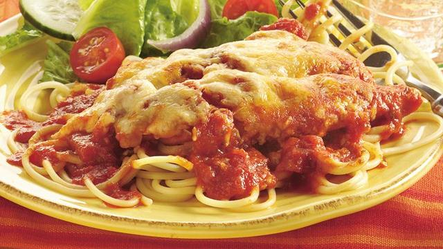 Cheesy Italian Chicken Bake