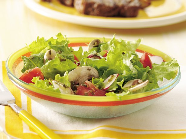 Garden Salad with Herbed Vinaigrette