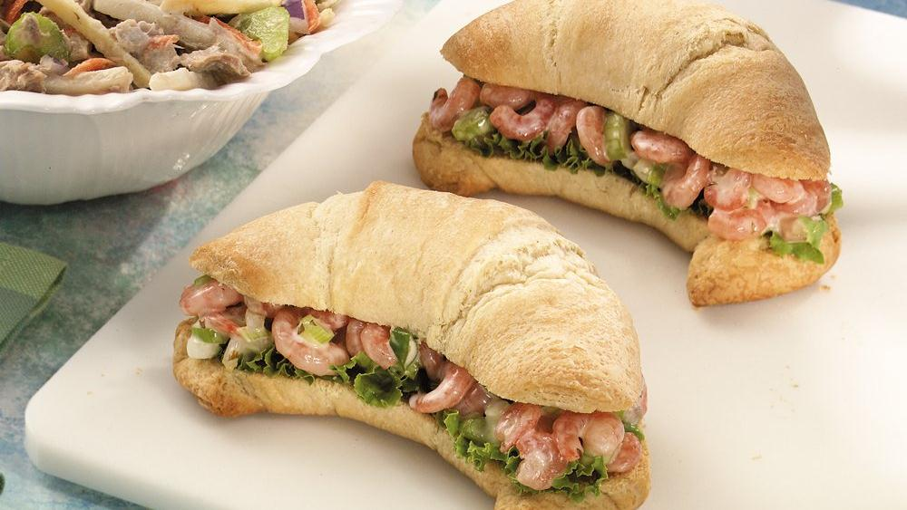 Grands!® Crescent Shrimp Salad Sandwiches