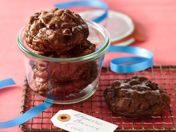 Espresso Brownie Cookies