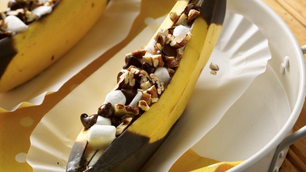 Grilled Banana Boats