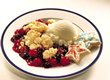 Double-Berry Crisp