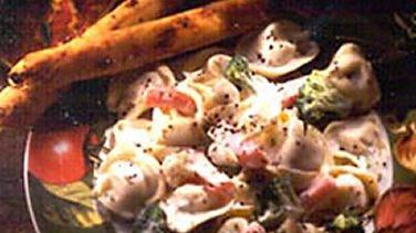Garlic-Herb Vegetable Tortellini