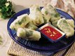 Asian Fish Rolls in Rice-Paper Wrappers