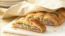 Ham and Swiss Crescent Braid Recipe