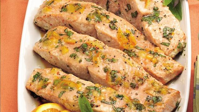 Citrus-Glazed Grilled Salmon Recipe