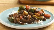 Teriyaki Beef and Vegetables Recipe