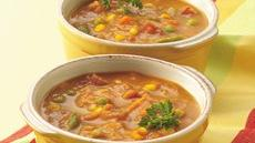 Curried Pumpkin-Vegetable Soup Recipe