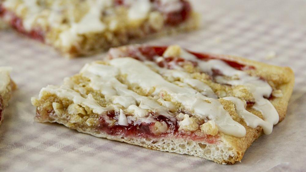 Cherry Streusel Flatbread