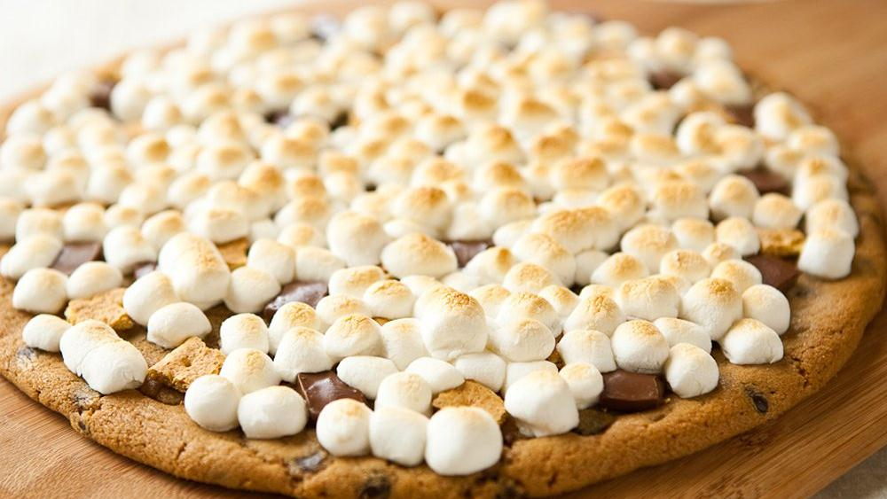 Giant S'mores Chocolate Chip Cookies Recipe — Dishmaps