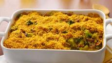 Broccoli-Bacon Casserole with Cheesy Mustard Sauce Recipe