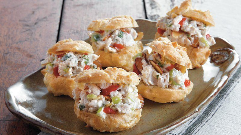 Chicken Salad Puffs Recipes — Dishmaps