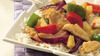 Chicken and Sweet Pepper Stir-Fry