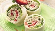 Chicken Salad Roll-Ups Recipe
