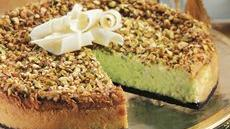 Pistachio-White Chocolate Cheesecake Recipe