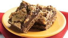 Candy Bar Fudge Jumbles Recipe