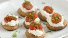 Easy Tomato Bites with Ricotta Recipe