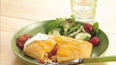Chicken and Cheese Crescent Chimichangas Recipe