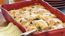 Spinach and Ravioli Lasagna Recipe