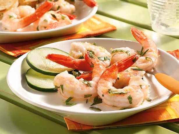 Easy Italian Marinated Shrimp