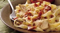 Chicken Fettuccine Casserole Recipe