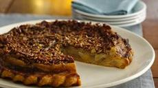 Caramel-Pecan Upside-Down Chai Apple Pie Recipe